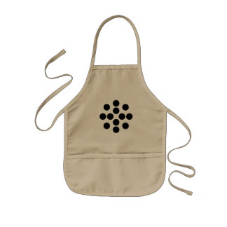 dots and dots kids apron