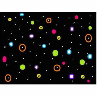 dots photo sculpture magnet