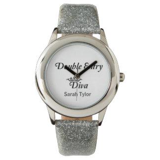 Double Entry Diva Wristwatch
