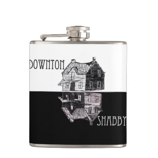 Downton Shabby Flask