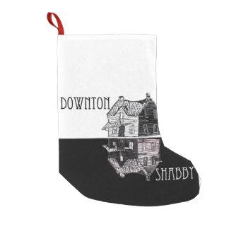 Downton Shabby Parody Christmas Stocking