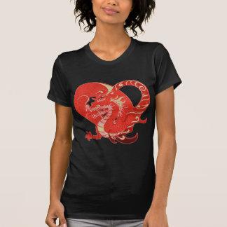Dragon Heart Valentine T Shirt