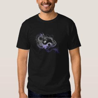 Dragon-&-Yin-Yang-(Black) Shirts