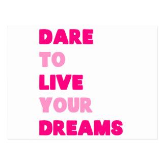 Dream Pink Postcard