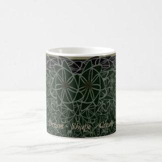 Dream, Shape, Create coffee mug