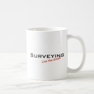 Dream / Surveying Basic White Mug