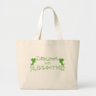 Drunk On Absinthe Jumbo Tote Bag