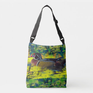 duck pond crossbody bag and tote tote bag