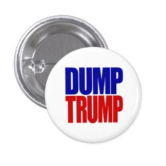 """""""DUMP TRUMP"""" 2.25-inch 3 Cm Round Badge"""