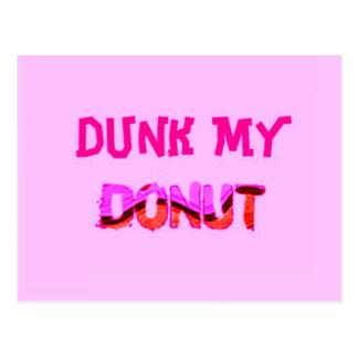 Dunk My Donut Postcard