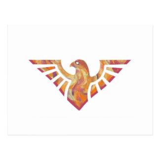 Eagle Stencil Silhouette 17 Postcard