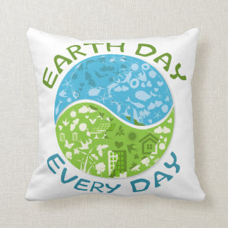 Earth Day Every Day Cushions