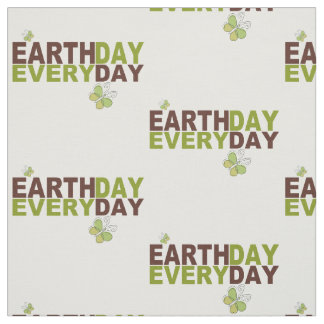 Earth Day Every Day Fabric