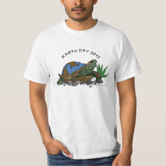 Earthday turtle tee shirts