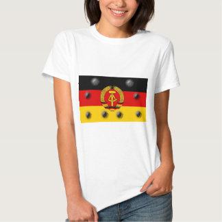 East German Flag Tshirt