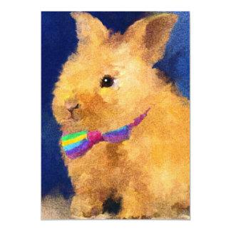 Easter Bunny 5x7 Mini Prints 13 Cm X 18 Cm Invitation Card