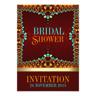 Eastern Bohemian Bridal Shower Invitations