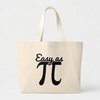Easy As Pi Jumbo Tote Bag