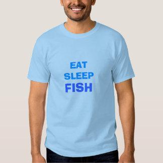 EAT SLEEP, FISH TEE SHIRTS