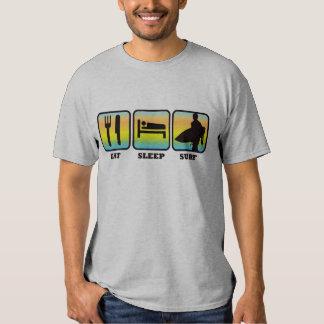 Eat, Sleep, Surf Tee Shirt