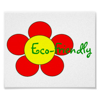 """""""Eco-Friendly"""" Poster - Customizable"""