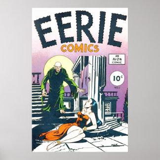 Eerie Comics #1 Poster