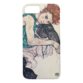 Egon Schiele Seated Woman iPhone 7 Case