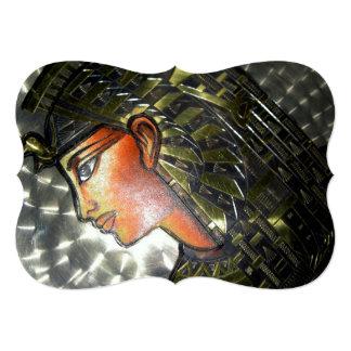 Egypt Art 13 Cm X 18 Cm Invitation Card