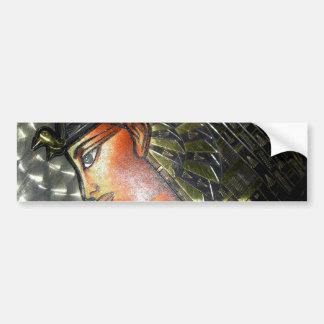 Egypt Art Bumper Sticker