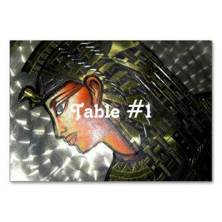 Egypt Art Table Cards