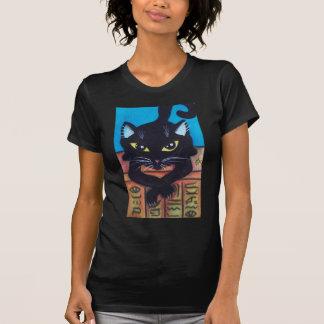 Egypt Black Cat Tee Shirt