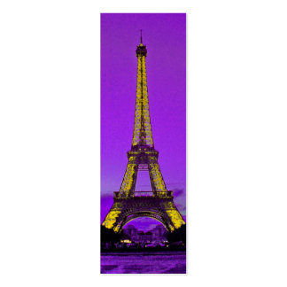 Eiffel tower pack of skinny business cards