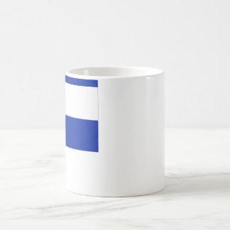 El Salvador Flag Basic White Mug