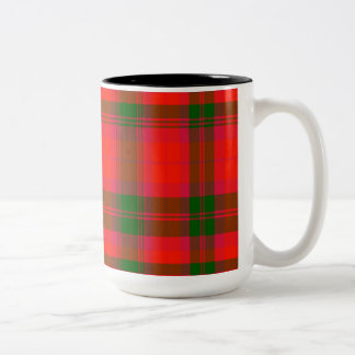 Elder Scottish Tartan Two-Tone Mug