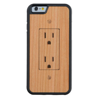 Electrical Outlet #2 Cherry iPhone 6 Bumper Case