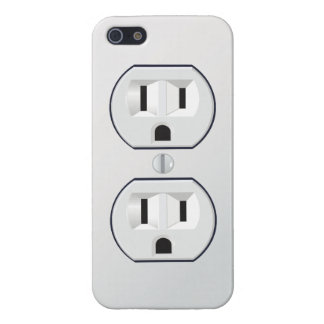 Electrical outlet iPhone case Cover For iPhone 5/5S