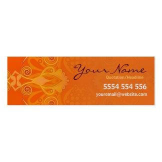 Elegan oRange mini Business Card