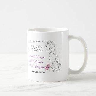 Elegance_bachelorette party basic white mug