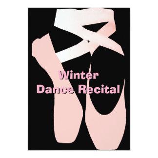 Elegant Ballet Dance Recital Invitation