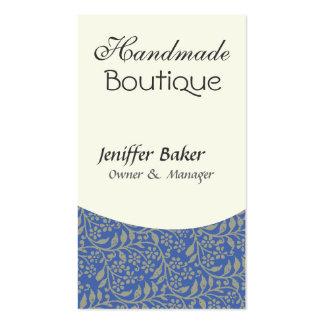 Elegant  Design  Jack of All Trades Retro Blue Pack Of Standard Business Cards