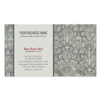 Elegant, floral, baroque Business Card