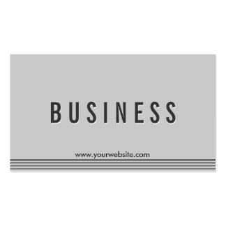 Elegant Grey Physical Scientist Business Card