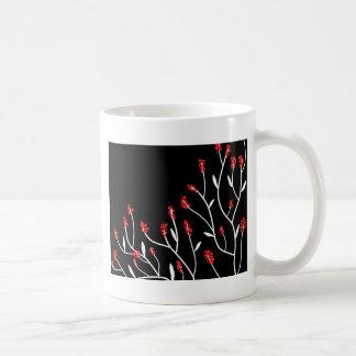 Elegant tree 2 basic white mug