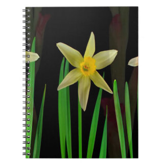 Elegant Yellow Flower Floral Bouquet Gifts Romance Note Books