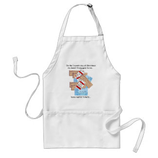 Eleventh Day Redneck Christmas Standard Apron