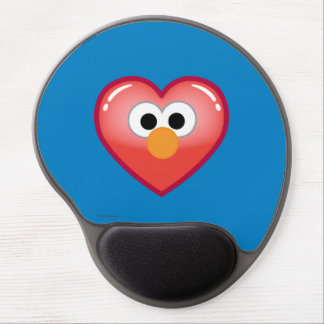 Elmo Heart Gel Mouse Pad