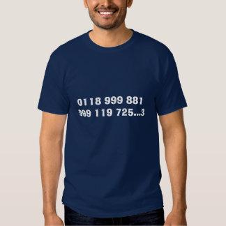 Emergency Services Tshirts