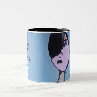 Emo Kid Art Coffee or Tea Mug