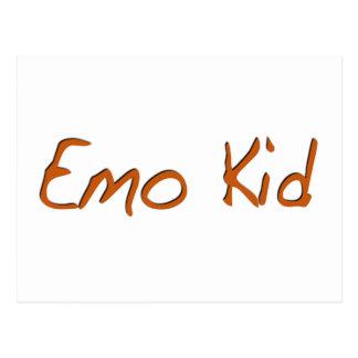 Emo Kid Postcard