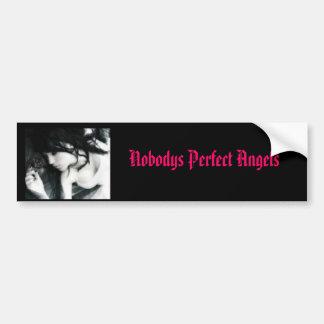 emo, Nobodys Perfect Angels Bumper Sticker